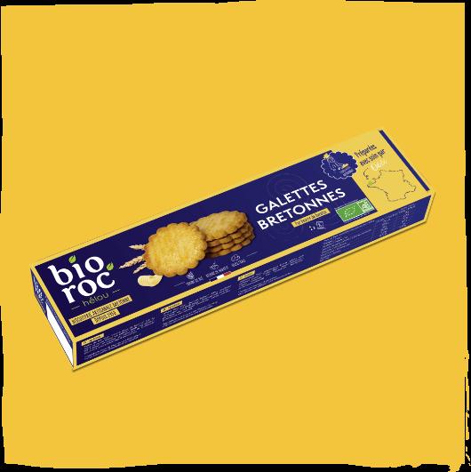 Bio roc'helou biscuiterie bretonne artisanale
